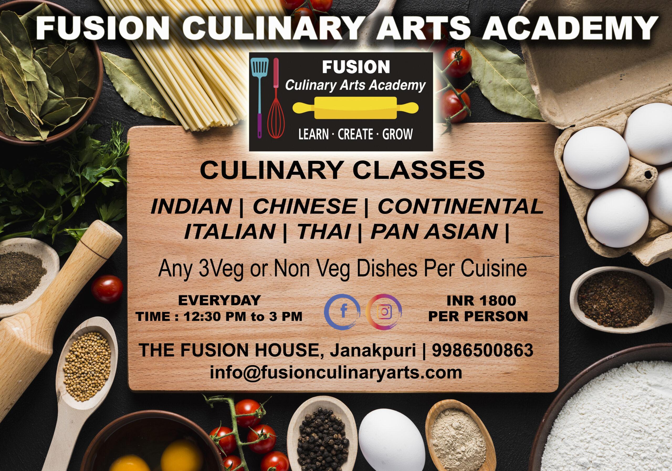 Best Cooking Classes in Janakpuri